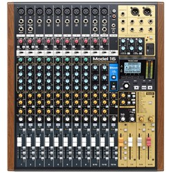 Tascam Model 16 Multitrack Recorder w/ Integrated USB Audio Interface & Analog Mixer