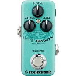 TC Electronic HyperGravity Mini Compressor TonePrint Enabled Pedal