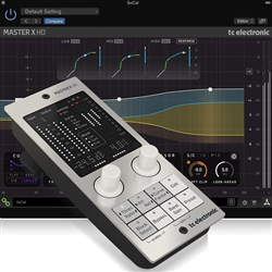 TC Electronic MASTER X HD Multiband Dynamics Plug-In w/ Desktop Interface