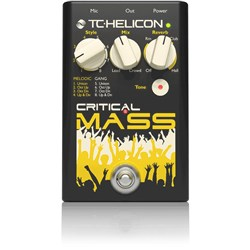 TC Helicon Critical Mass Choir, Reverb & Tone Pedal