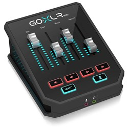 TC Helicon Go XLR Mini All-in-One Audio Interface for Streamers & Content Creators