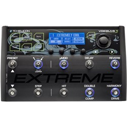 TC Helicon VoiceLive 3 Extreme Vocal/Guitar FX & Multi Looper w/ Automation & Backing Tracks