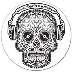 Technics Skull & Phones Slipmats (Pair)