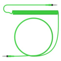 Teenage Engineering Audio Cable Curly - 1200mm (Green)