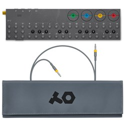 Teenage Engineering OP-Z Bundle w/ Roll-Up Bag (Yellow) & Audio Cable (750mm)
