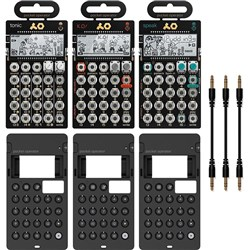 Teenage Engineering Pocket Operator Metal Series Super Set w/ PO32, PO33 & PO35