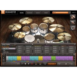 Toontrack EZ Drummer 2.0 Drum Production Software (Boxed Copy)