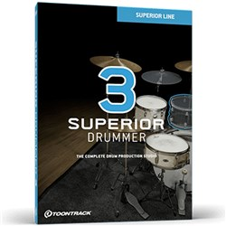 Toontrack Superior Drummer 3.0 Drum Production Studio (Boxed Copy)