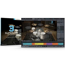 Toontrack Superior Drummer 3 Drum Production Studio (eLicense Download Only)