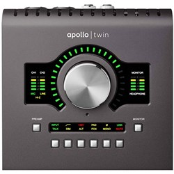 Universal Audio Apollo Twin 2 Quad Thunderbolt Interface w/ Bonus Decksaver Cover