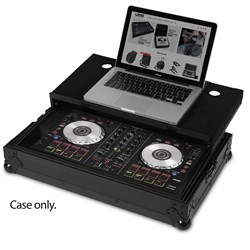 UDG Ultimate Flight Case for Pioneer DDJ-SB w/ Laptop Shelf (Black)