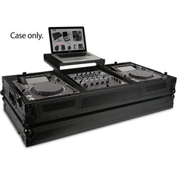 UDG Ultimate Flight Case Pioneer Nexus Coffin w/ Laptop Shelf & Wheels (Black)