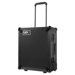 UDG Ultimate Flightcase for Multi Format Turntable MK2 Plus Trolley & Wheels (Black)