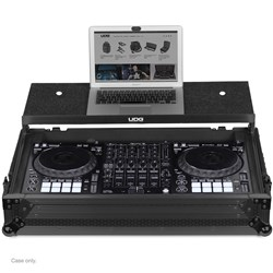 UDG Ultimate Flightcase Pioneer DDJ-1000 w/ Laptop Shelf & Wheels (Black)