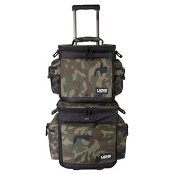 UDG Ultimate Sling Bag Trolley Set DeLuxe (Black Camo / Orange Inside)