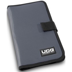 UDG CD Wallet 24 (Steel w/ Orange Inside)