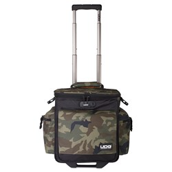 UDG Ultimate Sling Bag Trolley DeLuxe (Black Camo / Orange Inside)
