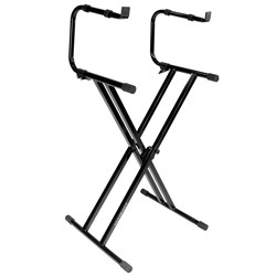 Ultimate Support IQ2200 2 Tier X-style Keyboard Stand w/ Double Bracing