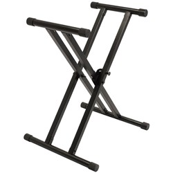 Ultimate Support IQ-X-3000 Double Braced Keyboard Stand w/ Memory Lock