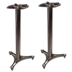 "Ultimate Support MS-90/36B Monitor Stand Pair 36"" (Black)"