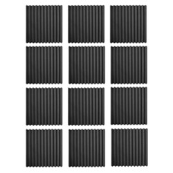 Wave Panels Standard Tiles (12 x pieces) Acoustic Treatment