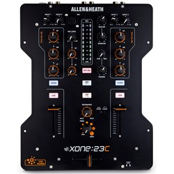 Allen & Heath Xone:23C DJ Mixer with USB in & Out