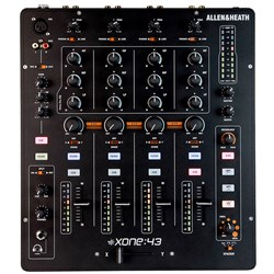 Allen & Heath Xone 43 Analogue 4 Channel DJ Mixer