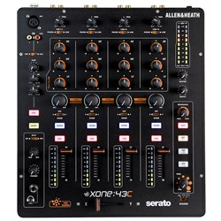 Allen & Heath Xone 43C Serato- Friendly 4 Channel DJ Mixer