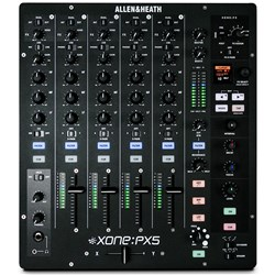 Allen & Heath Xone:PX5 True Analogue Hybrid DJ Mixer