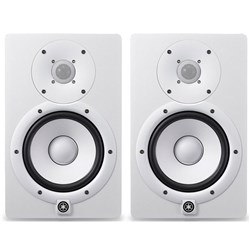 "Yamaha HS5W 5"" Active Studio Monitor - White (Pair)"