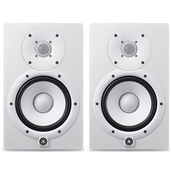 "Yamaha HS8W 8"" Active Studio Monitor - White (Pair)"