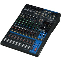 Yamaha MG12XU 12 Input Mixer w/ FX & USB Audio Interface (Fader Version)