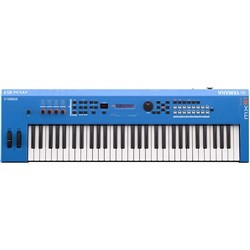 Yamaha MX61 BU MK2 Synthesiser w/ MOTIF XS Sound Engine (Blue)