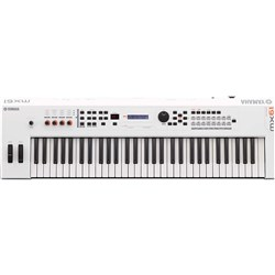 Yamaha MX61 WH MK2 Synthesiser w/ MOTIF XS Sound Engine (White Limited Edition)