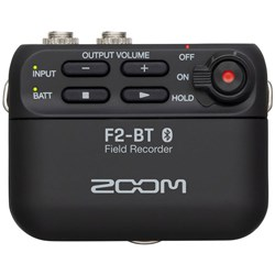 Zoom F2-BT Field Recorder w/ Bluetooth & LMF-2 Lavalier Mic