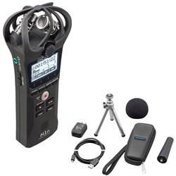 Zoom H1n Handy Recorder w/ APH1n Accessory Pack (Black)