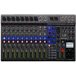 Zoom LiveTrak L-12 Digital Mixer & Recording Console