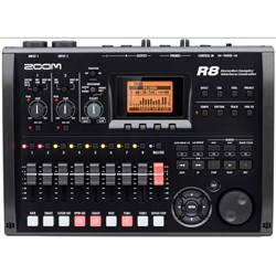 Zoom R8 Multi-Track Recorder : Interface : Controller : Sampler