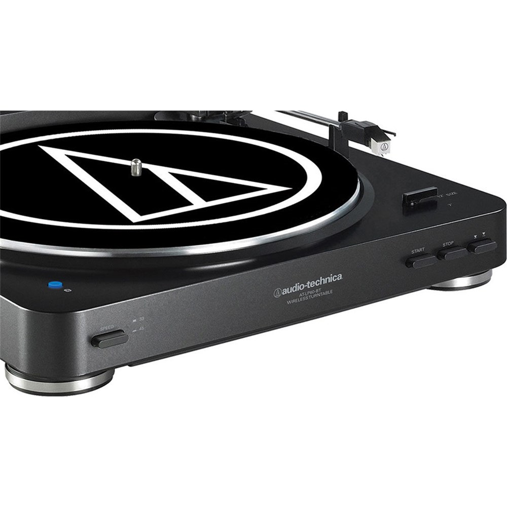 Audio Technica AT LP60BT Wireless Bluetooth Turntable (Black)