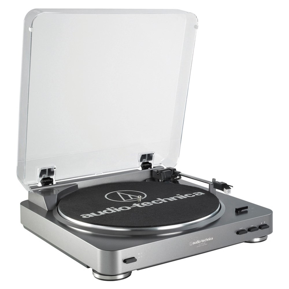 Audio Technica LP60-USB Belt Driven USB Turntable (Grey)