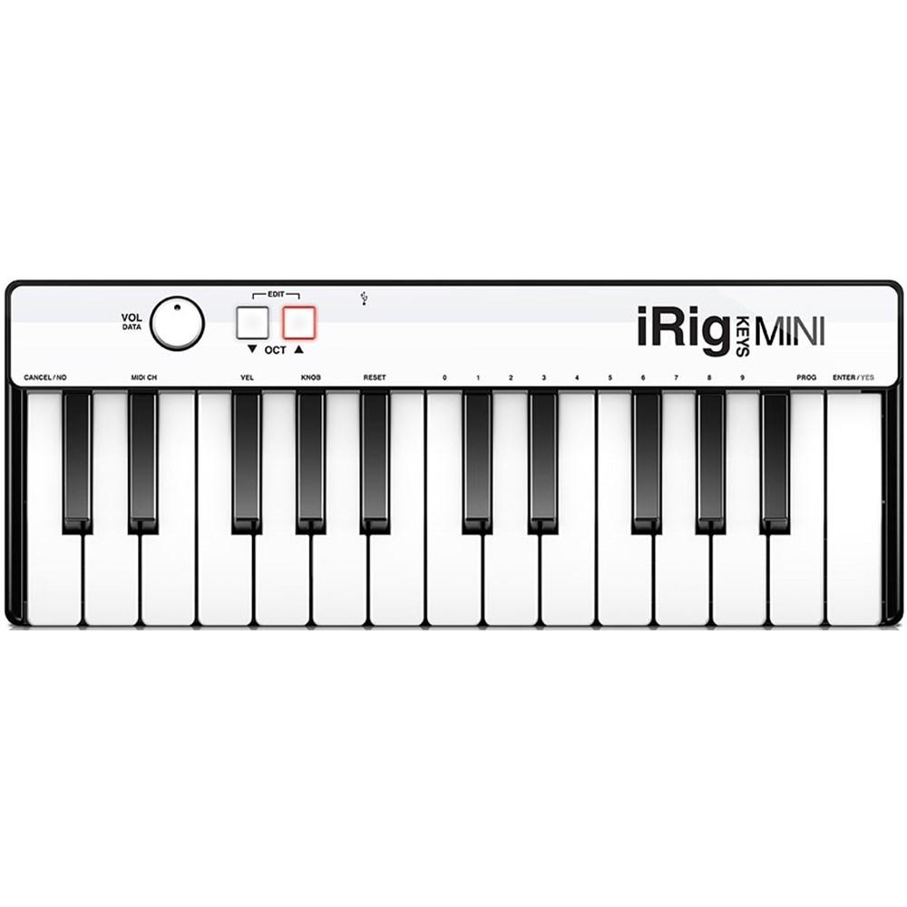 IK Multimedia iRig Keys Mini Controller for iOS, Mac & PC