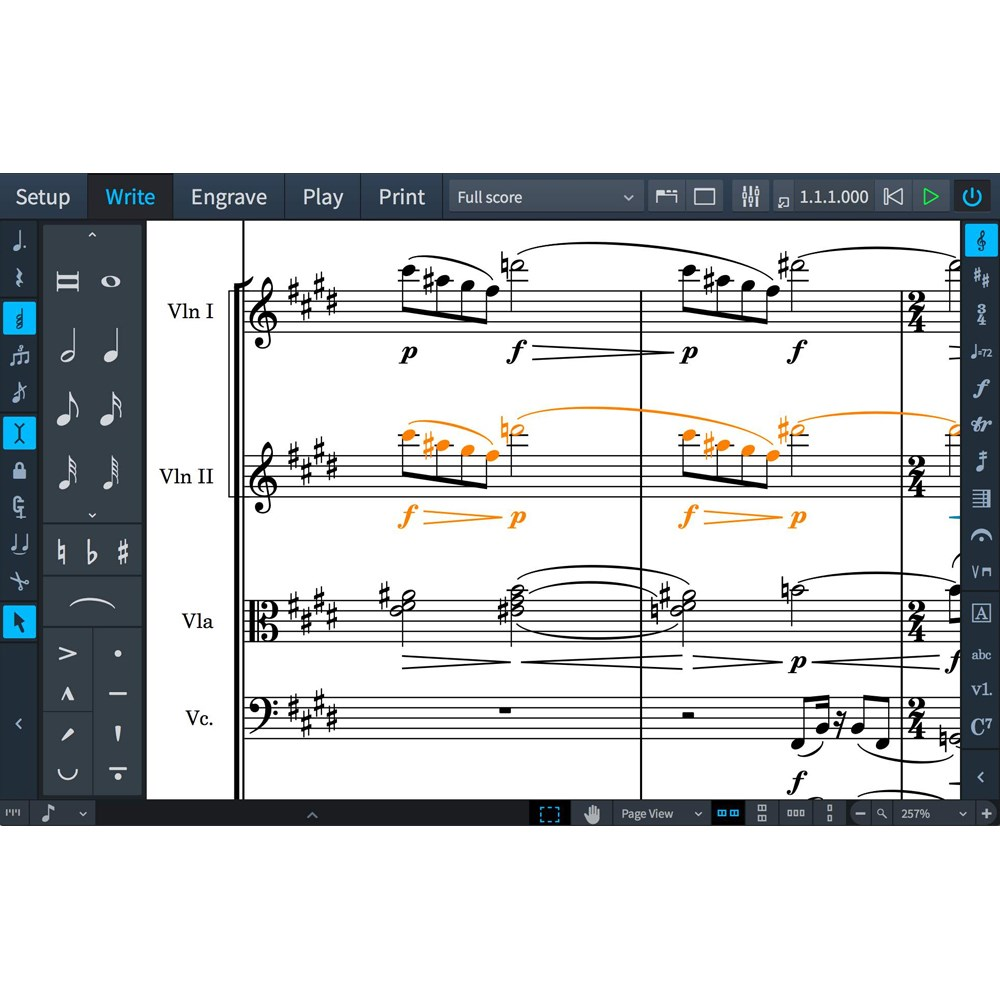 Steinberg Dorico Pro 2 Music Notation Software (Cross-Grade)