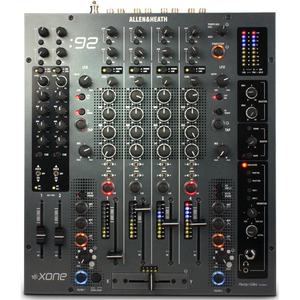 allen heath xone 92 analogue dj mixer dj mixers store dj. Black Bedroom Furniture Sets. Home Design Ideas