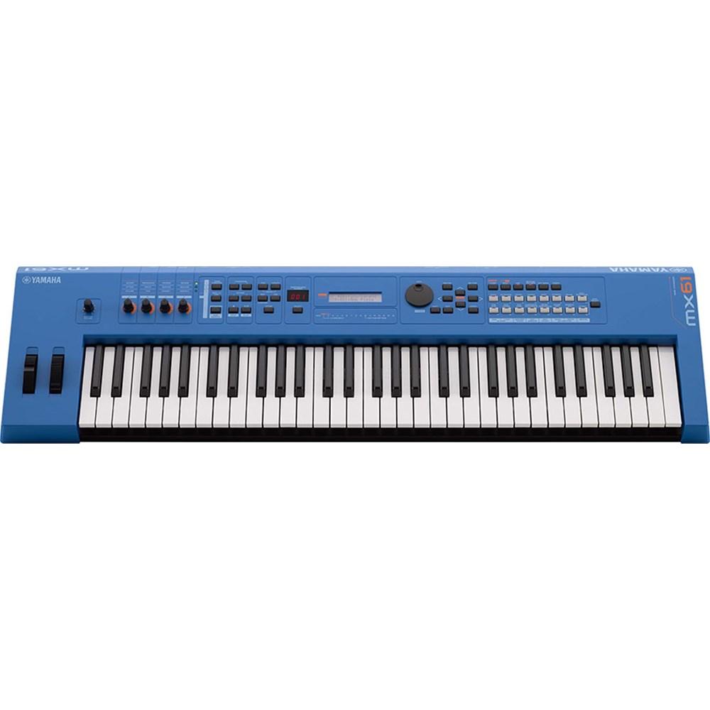 Yamaha MX61 BU MK2 Synthesiser w/ MOTIF XS Sound Engine (Blue)