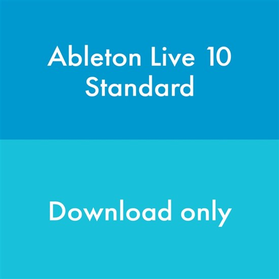 Ableton Live 10 Standard Upgrade from Live Intro (eLicense Download Code Only)