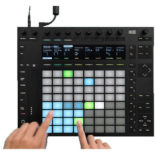 Ableton Push 2 Controller w/ Colour Display & Live 10 Intro