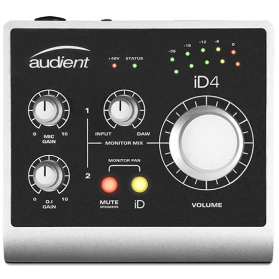 Audient iD4 2-In/2-Out High Performance Audio Interface w/ ScrollControl