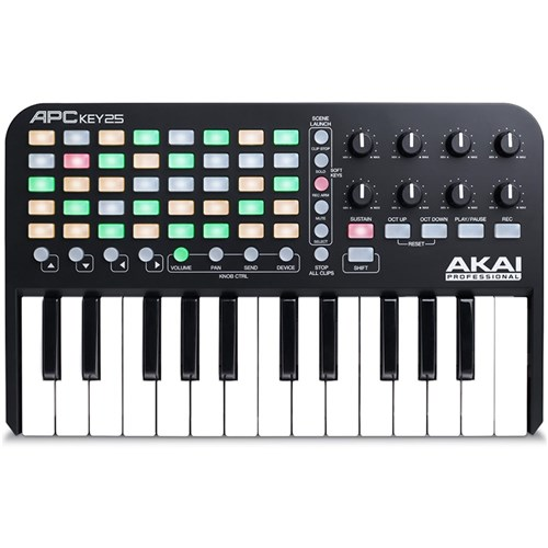 Akai APC KEY 25 Ableton Performance Controller w/ Keys