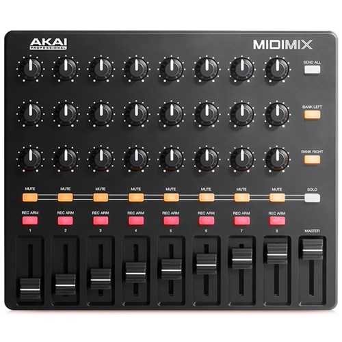 akai midimix high performance portable mixer daw controller midi controllers store dj. Black Bedroom Furniture Sets. Home Design Ideas