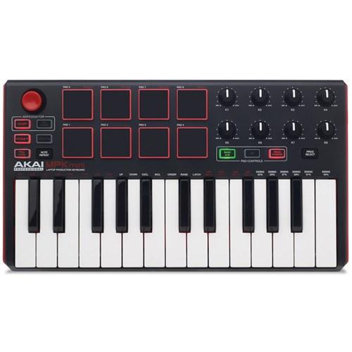 Akai MPK Mini mkII Compact Keyboard & Pad Controller